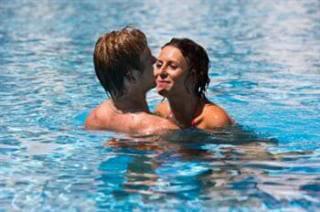 seks in het water, penetreren