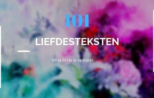 101 Liefdesteksten