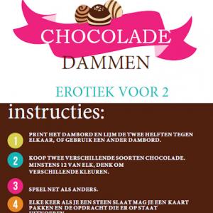 chocolade dammen front