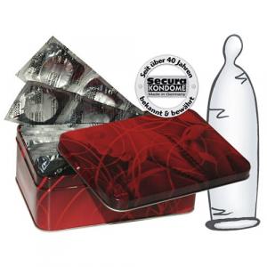 50 transparante condooms Secura